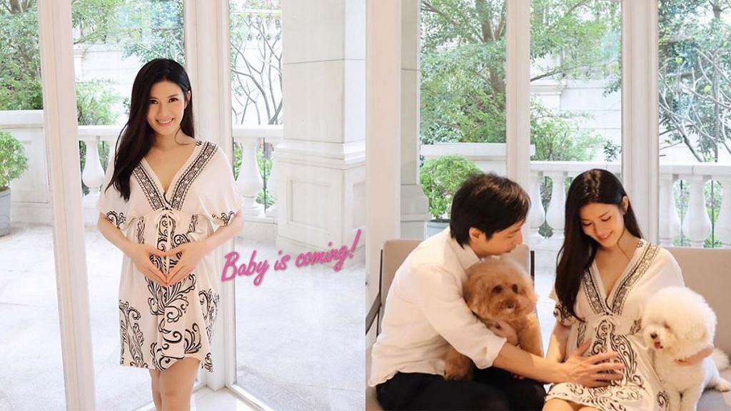結婚5年終於造人成功!張美妮IG報喜:Baby is coming
