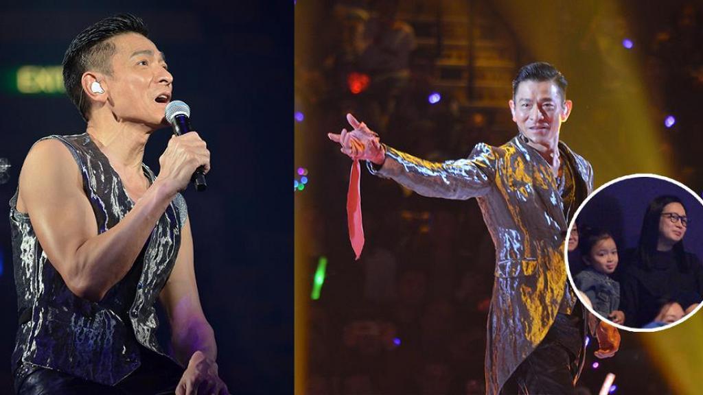 【劉德華演唱會】華仔相隔8年再開紅館個唱 朱麗倩罕有帶囡囡現身