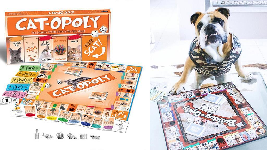 《寵物版大富翁》狗主貓奴至啱玩 18款得意貓咪/狗狗主題!