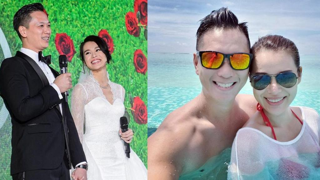 胡杏兒結婚3周年依然勁Sweet 老公晒婚照打火星文鬥肉麻