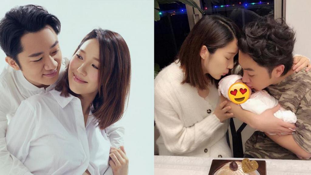 李亞男為慶祝王祖藍首度公開囡囡正面 網民大讚:媽媽的基因還是很多!
