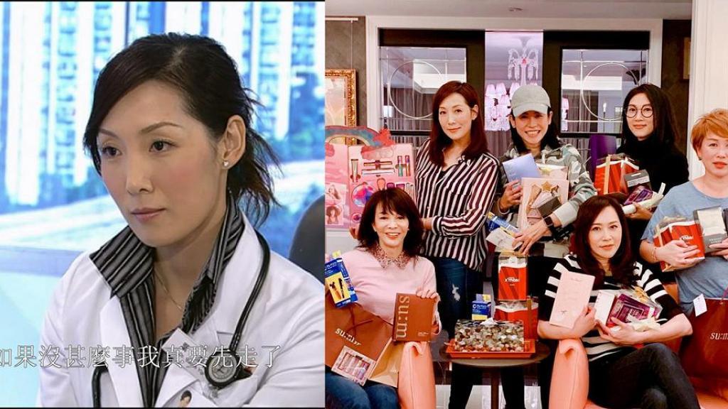 鄭裕玲與閨密新年聚會 46歲凍齡美女吳美珩激罕現身