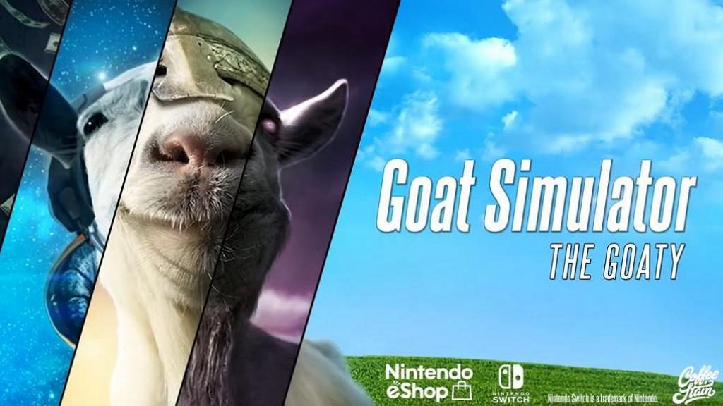 超騎呢《模擬山羊》登陸Switch 做山羊穿牆飛天周圍搞破壞!