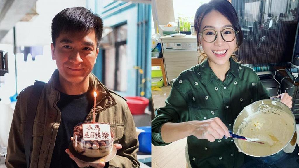 馬國明45歲生日撞正要拍《降魔的2.0》 女友黃心穎自製蛋糕嘲似阿X整餅