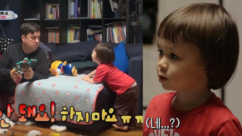 【超人回來了】威廉愛與細佬爭玩具 爸爸非常手段教導要分享
