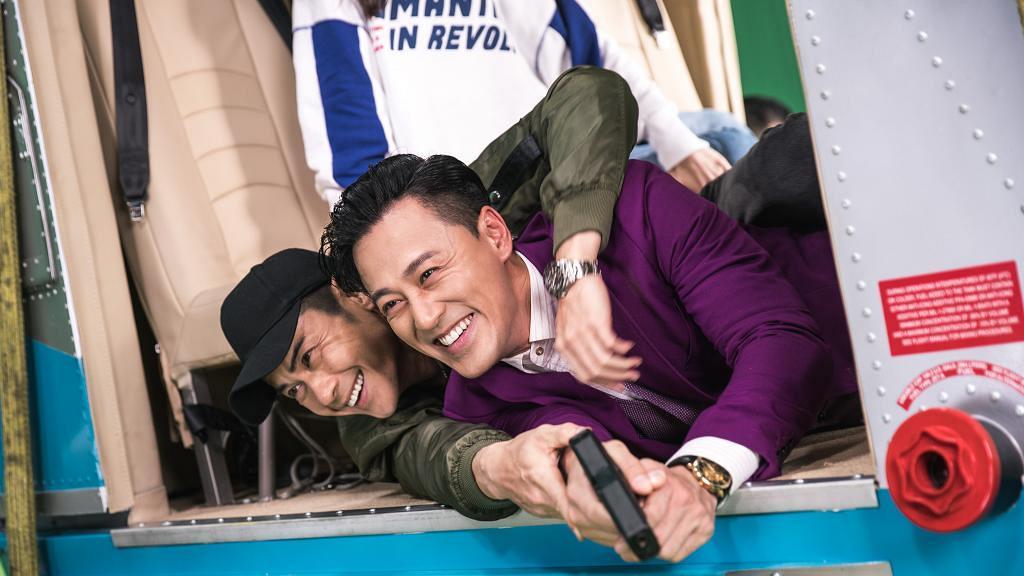 曾一齊拍攝TVB劇集《Yummy Yummy》 鄭嘉穎與林峯相隔14年再度合作