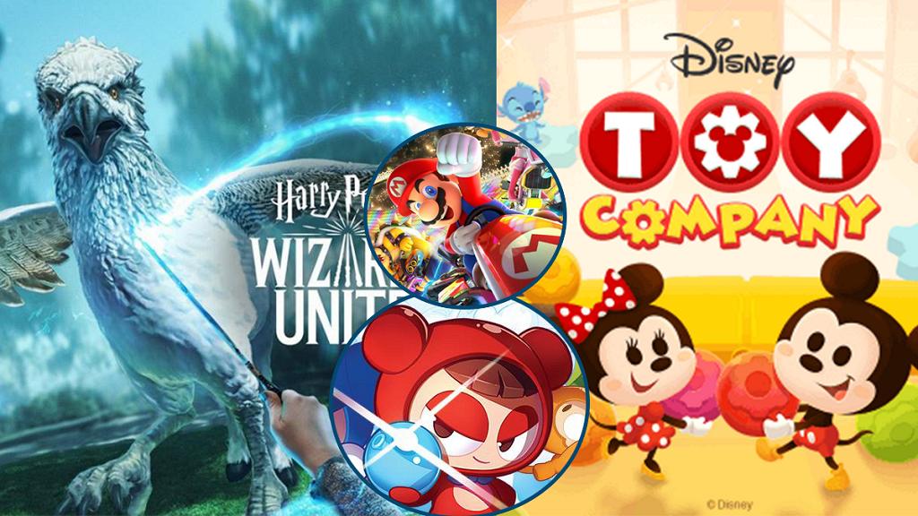 2019年6大新手機遊戲推介!Mario/迪士尼/哈利波特/爆爆王