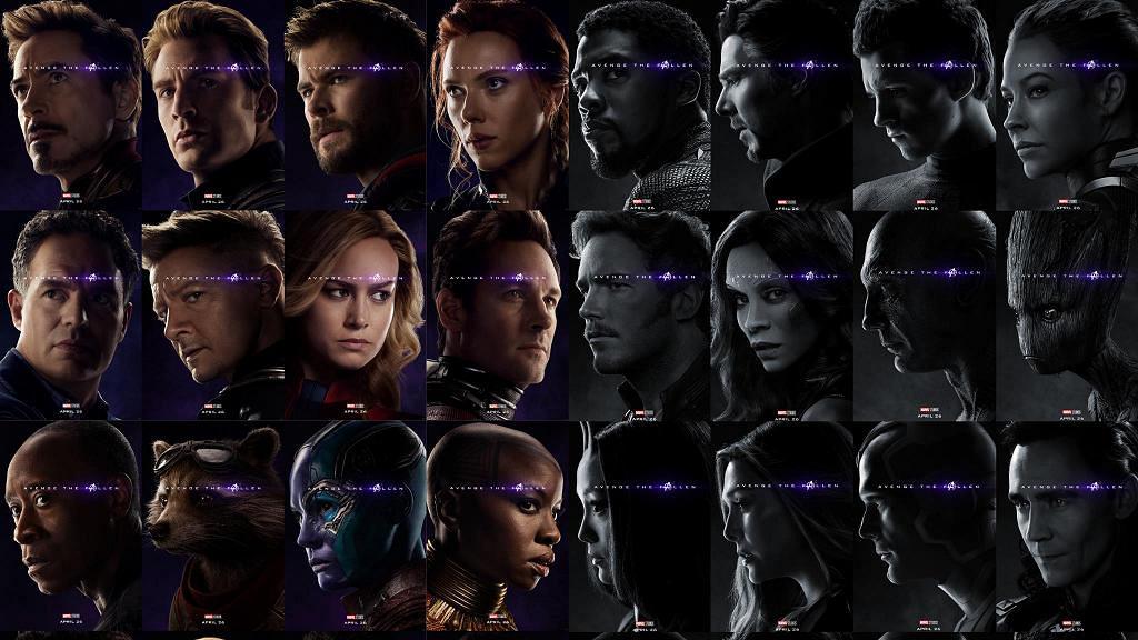 【復仇者聯盟4】全新海報回顧32位超級英雄 黑白照呈現已死角色令粉絲淚崩