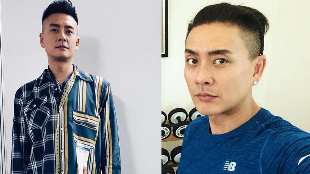黃宗澤IG分享「菠蘿頭」初成照 忍不住自抽:回味一下呢個頭!