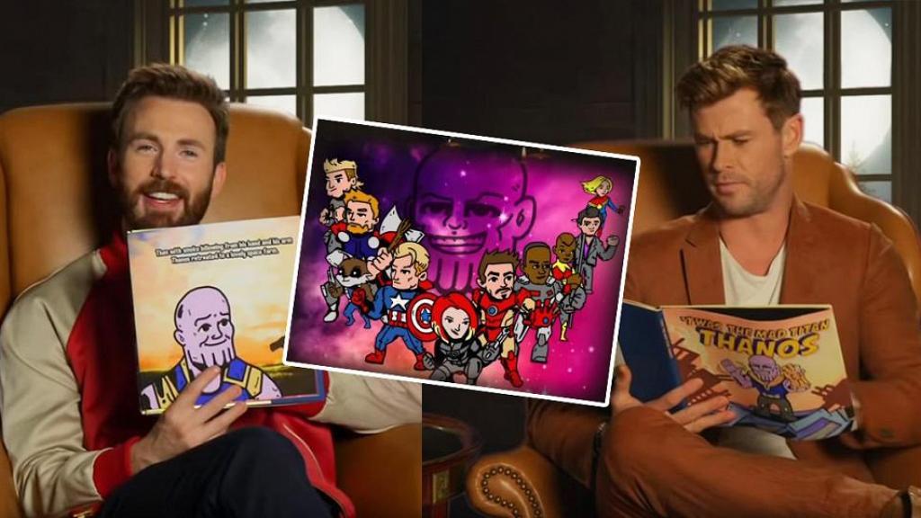 【復仇者聯盟4】《無限之戰》改編成兒童圖書 Avengers成員朗讀床邊故事
