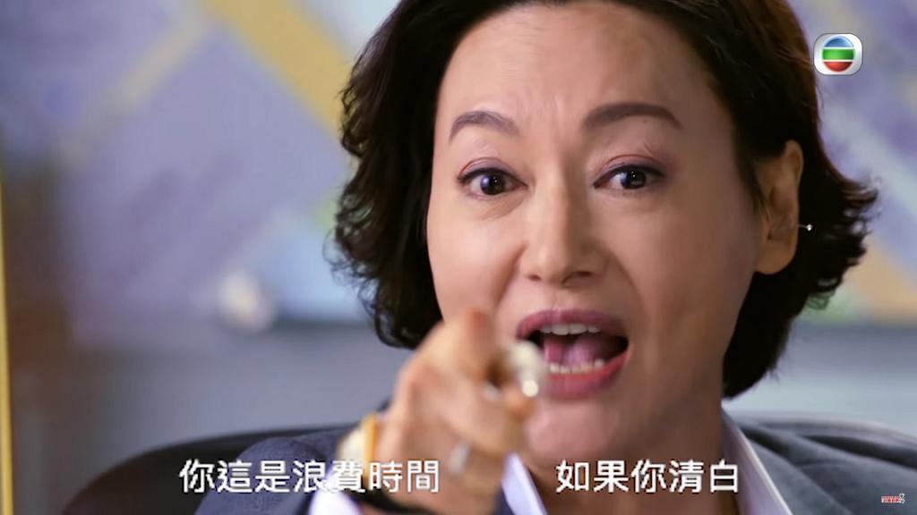 【鐵探】與黃智賢三分鐘對罵好精彩 網民大讚:惠英紅一個頂三個花旦