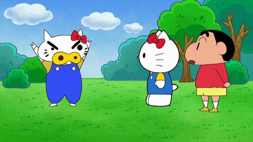 紀念45周年進行聯乘活動 官方確認Hello Kitty將於《蠟筆小新》動畫登場