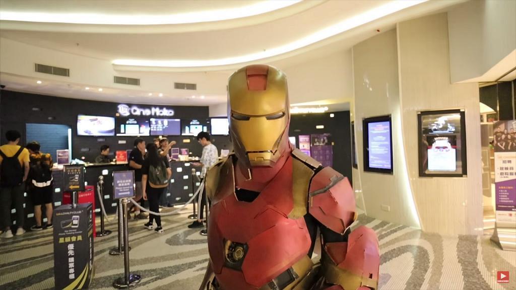 【復仇者聯盟4】中大學生50小時內趕製盔甲 扮成Iron Man睇戲向超級英雄致敬