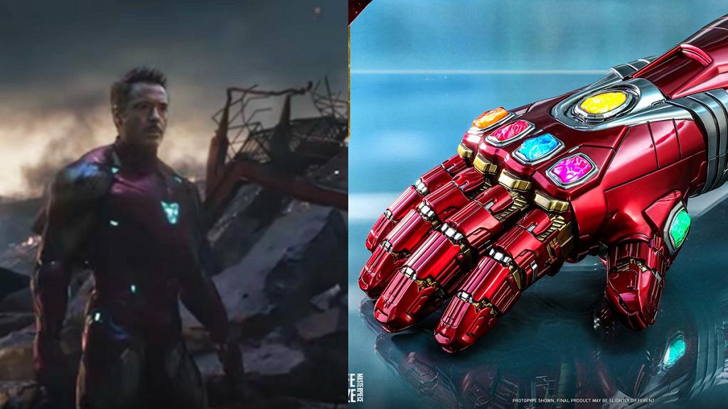 【復仇者聯盟4】Iron Man版無限手套模型 Marvel粉絲收藏1:1比例納米手套