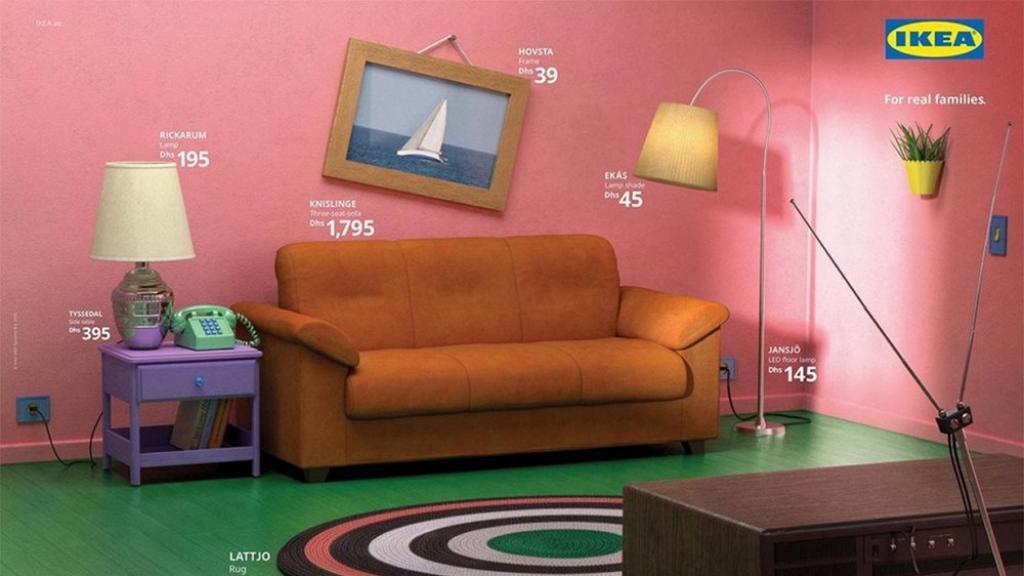 IKEA推出經典劇集客廳系列!神還原《The Simpsons》等精緻場景