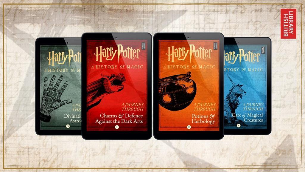 J.K.羅林推出4部《哈利波特》新外傳!認識魔法世界、 體驗霍格華茲必修科