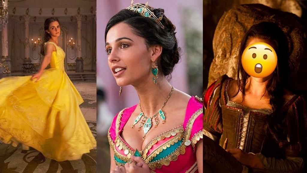 【阿拉丁】10個迪士尼女角真人版 茉莉公主/貝兒還原度最高!這位公主最崩壞?