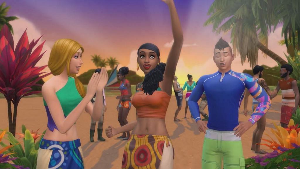《模擬市民4島嶼生活》6月底即將推出 小島邂逅美人魚!大玩浮潛/獨木舟