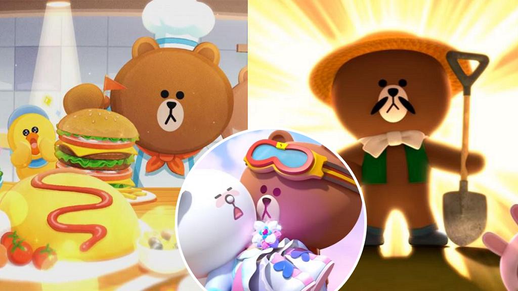 【手遊】7大LINE FRIENDS休閒手機Game推介 熊大陪你開餐廳/踏上魔法冒險旅程
