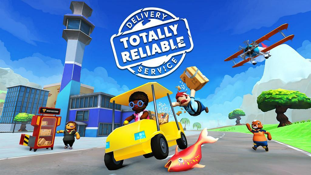 【Switch遊戲】《Totally Reliable Delivery Service》變速遞員送貨亂衝亂撞