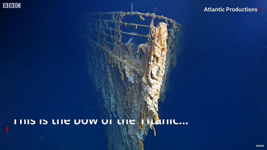 探險隊潛入海底拍攝鐵達尼號 殘骸腐化嚴重預計約10年後化為烏有
