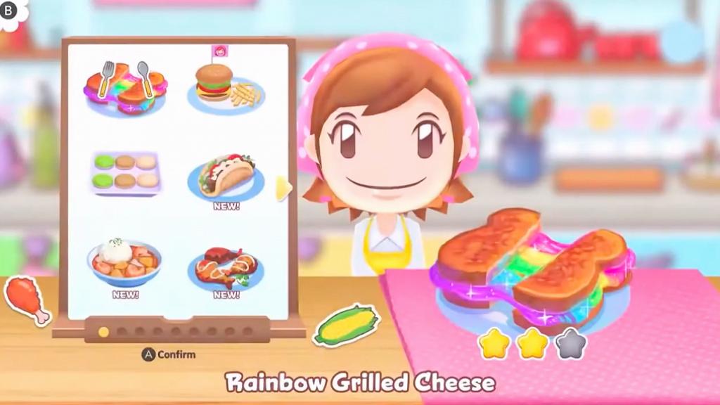 【Switch遊戲】《Cooking Mama: Cookstar》有得玩 體感煮飯仔+二人煮食對戰