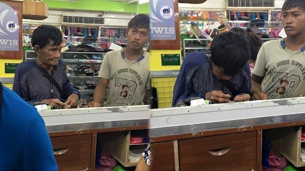 貧窮父親儲錢多年只為兒子買新鞋 付款點算一盒零錢場面催淚