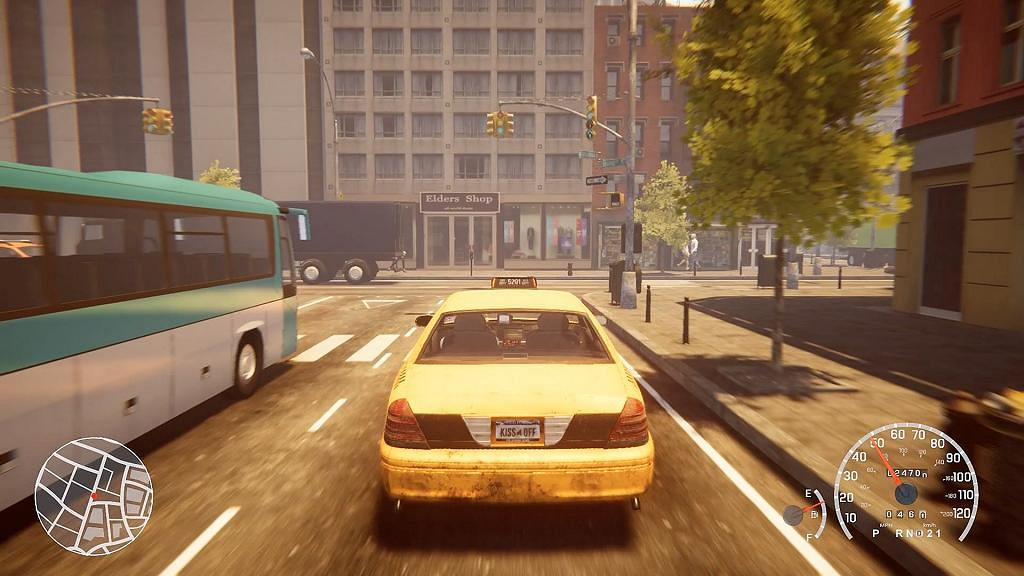 【PC】模擬的士遊戲《Taxi Simulator》街頭飛車接乘客玩法勁似《Crazy Taxi》