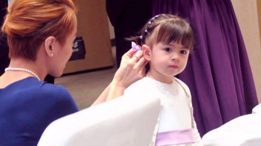梁詠琪曬囡囡Sofia三年前後對比照 網民讚越大越靚遺傳媽媽靚樣基因