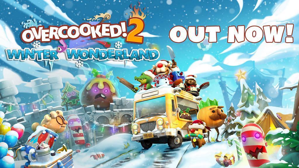【Switch】《Overcooked! 2》最新冬日主題免費更新!雪地營火新地圖+聖誕美食