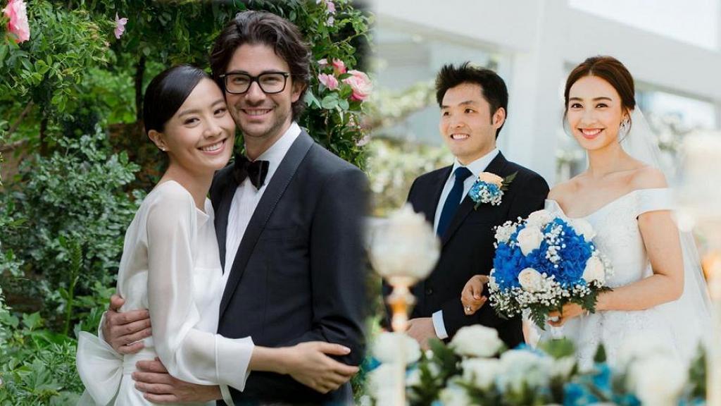 回顧2019年圈中女星的甜蜜婚禮 陳法拉王敏奕簡約風格帶領2020年婚紗潮流