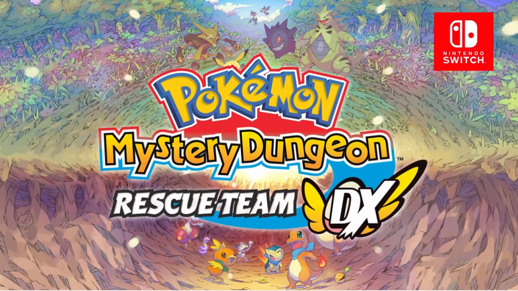【Switch】3月《Pokemon不可思議的迷宮救援隊DX》可愛畫風小精靈變救援隊冒險