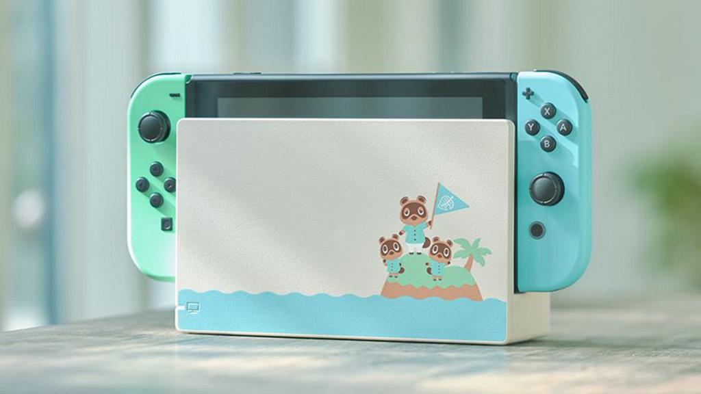【Switch】《集合啦!動物森友會》推Switch主機 少女配色粉藍+粉綠限定登場