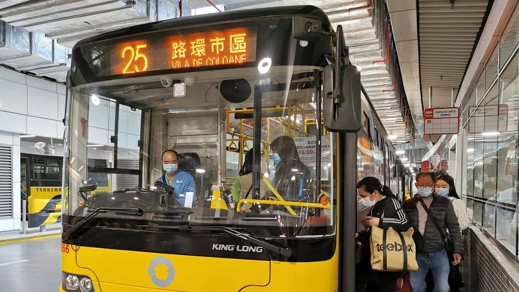 【新冠肺炎】澳門宣布今日起所有乘客搭巴士須戴口罩!不戴可被拒絕乘車
