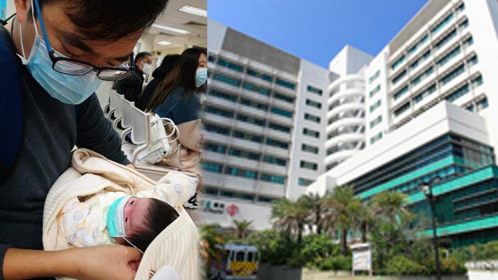 【新冠肺炎】父母帶寶貝女兒打針憂被傳染病毒  一個月大BB都要帶口罩網民心痛