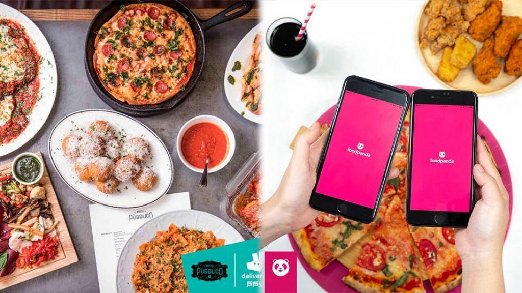 【外賣app比較】Deliveroo、UberEats、FoodPanda運費/優惠/送餐時間一覽