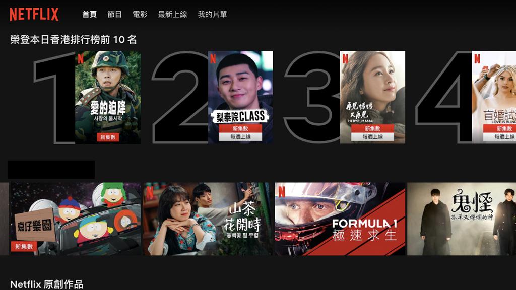 Netflix推Top 10人氣排行榜懶人啱用煲劇List!每日更新即睇熱門電影劇集