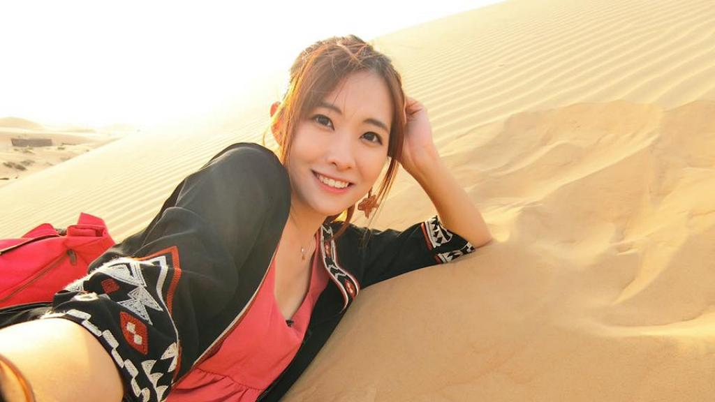 台灣美女梁凱晴(Nina)大學主修阿拉伯文 J2節目主持才貌兼備火速上位