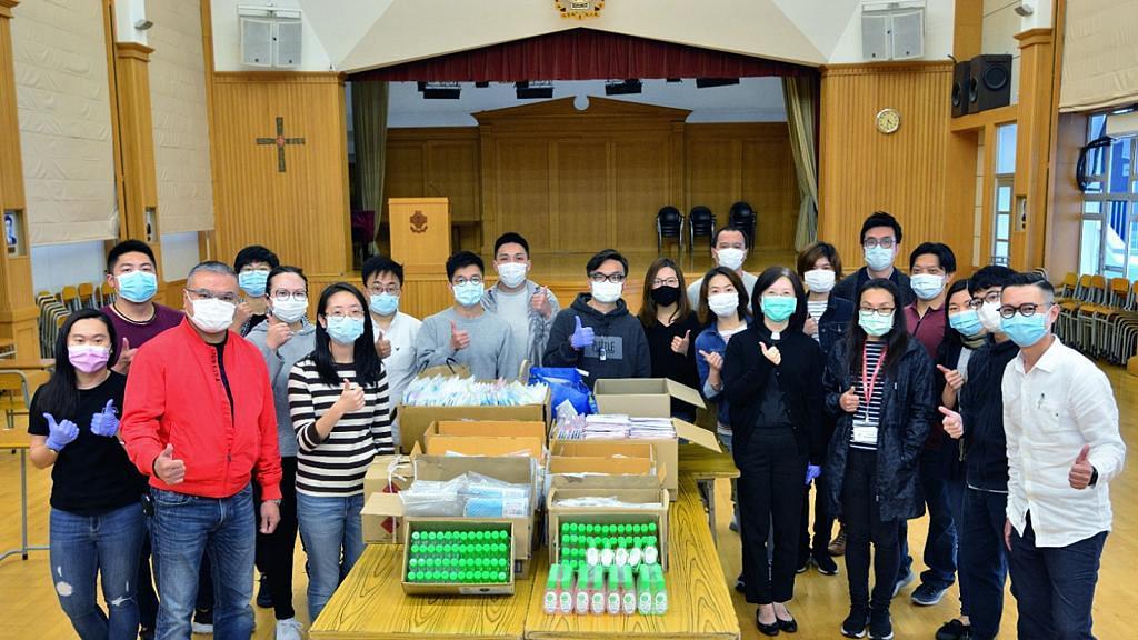 【派口罩】香港測量師學會籌集1萬個口罩!捐贈予聽障人士幫助弱勢社群
