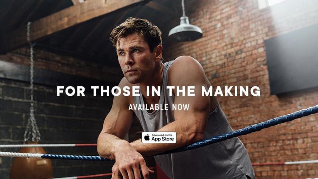 雷神健身App「Centr」免費試玩6星期 Chris Hemsworth陪你在家做運動
