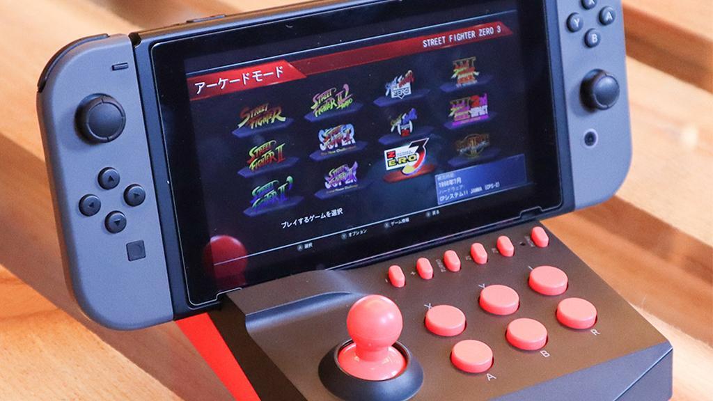 【Switch】任天堂Switch變身懷舊街機!格鬥Game專用搖控座玩落有手感