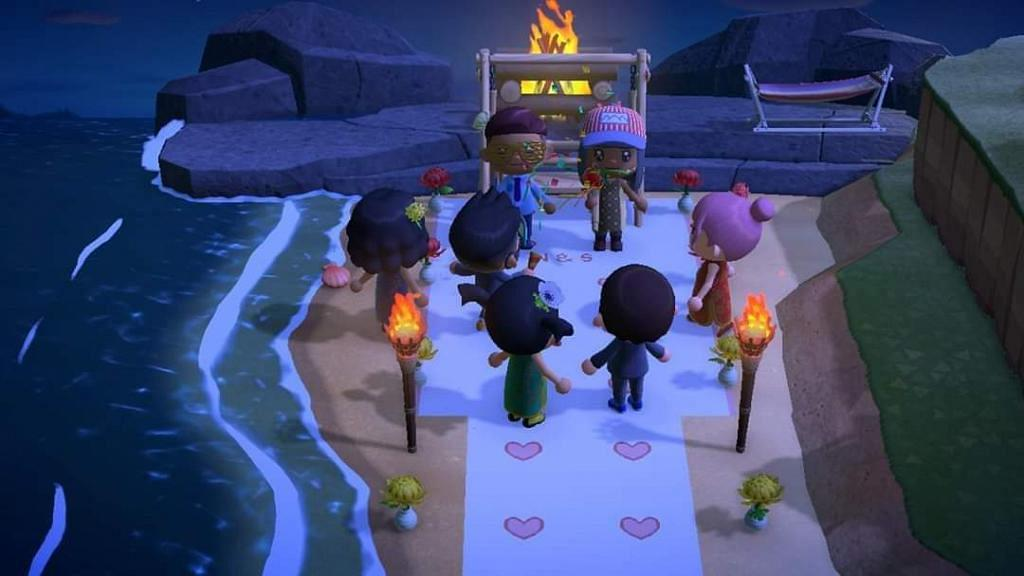 【Switch遊戲】肺炎疫情被迫取消婚禮 改在《動物森友會》舉行迷你婚禮超溫馨