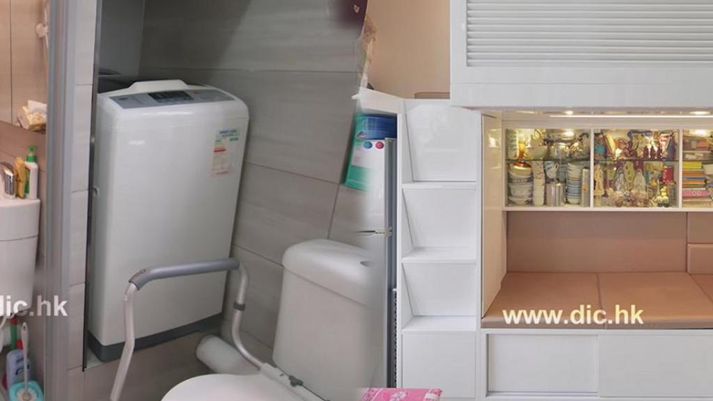 屋主要求180呎居屋有4房 設計師挑戰改造蝸居變2廁4獨立空間