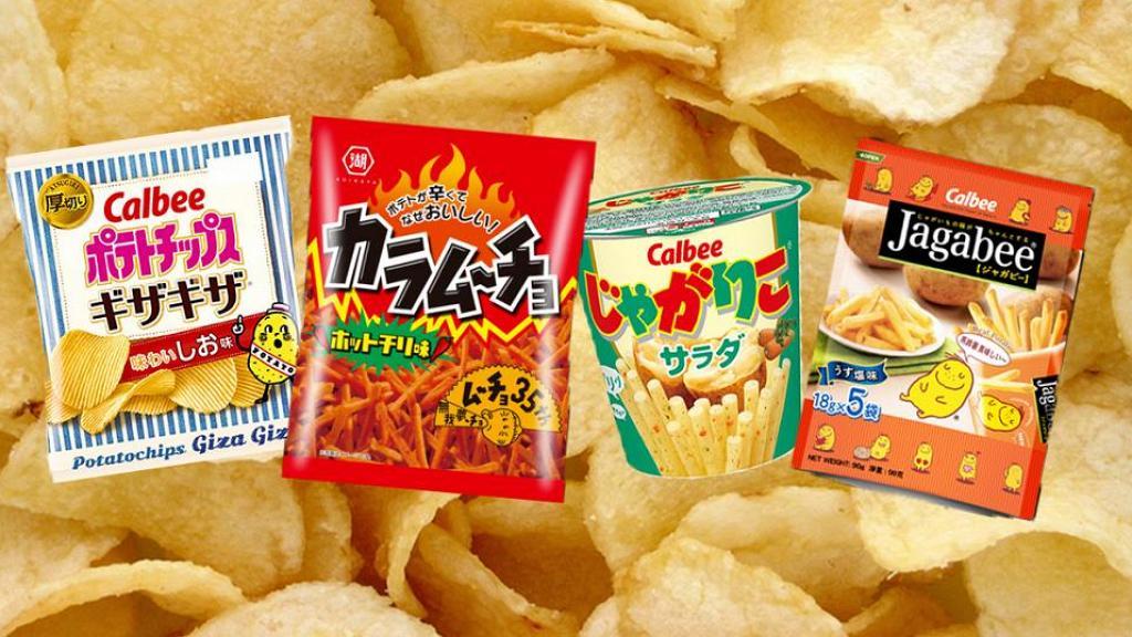 日本網民票選人氣Top10最好食的薯片排名 零食掃貨清單!大部分香港都買到