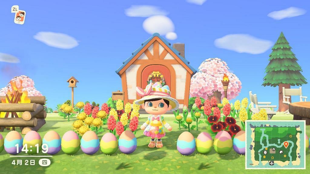 【動物之森】Switch《動物森友會》復活節全服飾道具 蛋取得方法!3大限定DIY