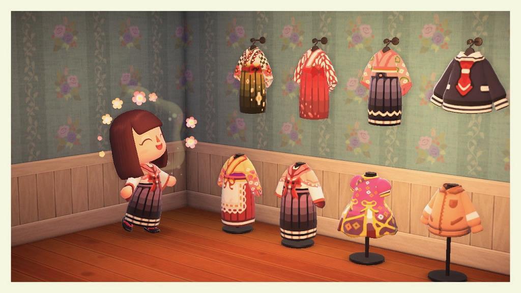 【動物之森】近百款動物森友會衣服QR Code 鬼滅之刃/美少女戰士/迪士尼服飾
