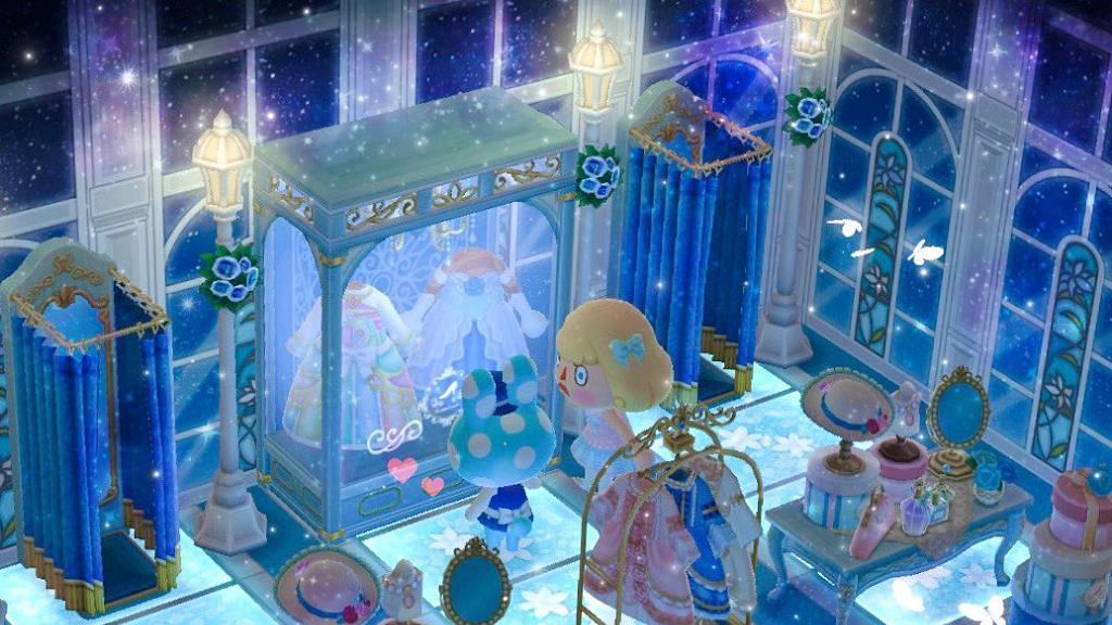 【動物之森】《動物森友會》夢幻夜空/北歐風格房間!16款牆壁/地板素材推介