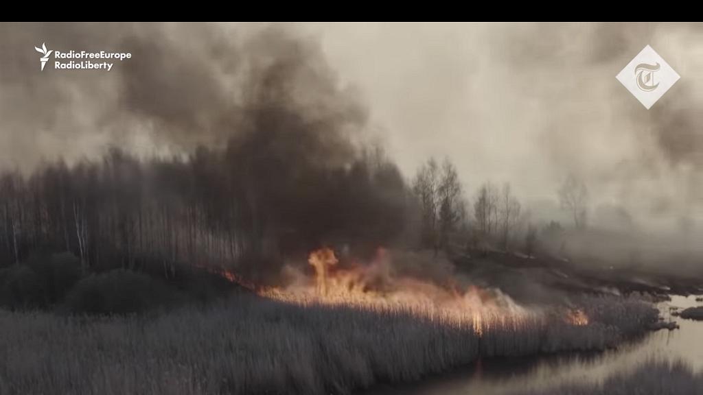烏克蘭發生森林大火 僅距離核電廠一公里 外界憂輻射或超標