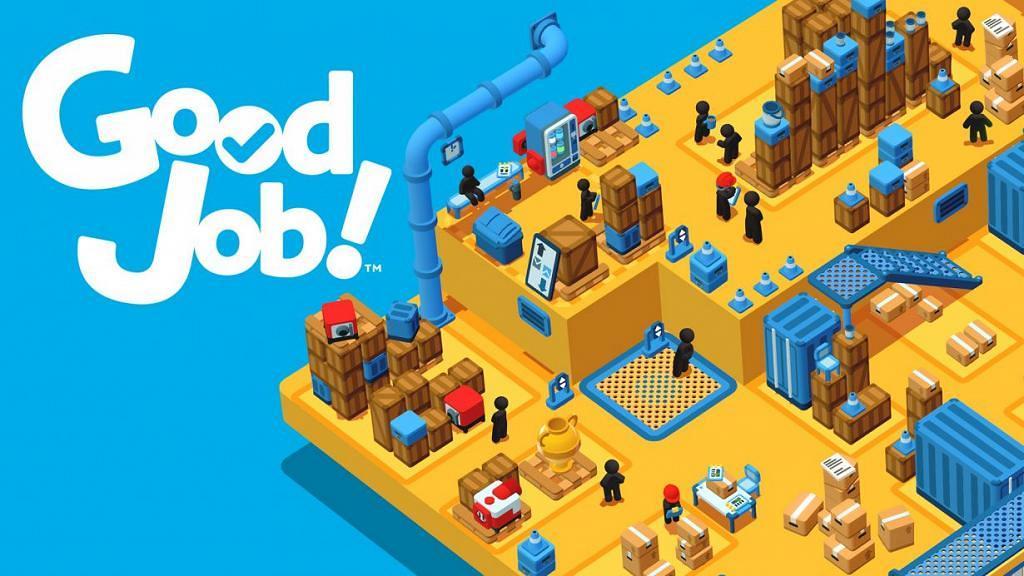 【Switch遊戲】《Good Job!》瘋狂辦公室主題!打工仔搏上位Office亂撞搞破壞