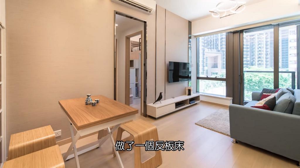 579呎單位兒子睡房僅得50呎 外傭要瞓飯廳 網民費解:工人冇覺好瞓